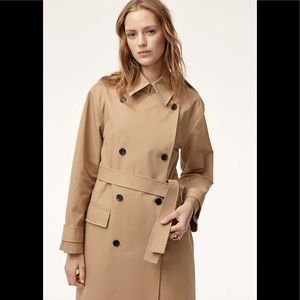Aritzia Eloi Wilfred Trench raincoat Coat Large